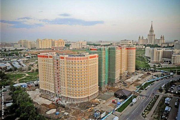 MГУ новое общежитие
