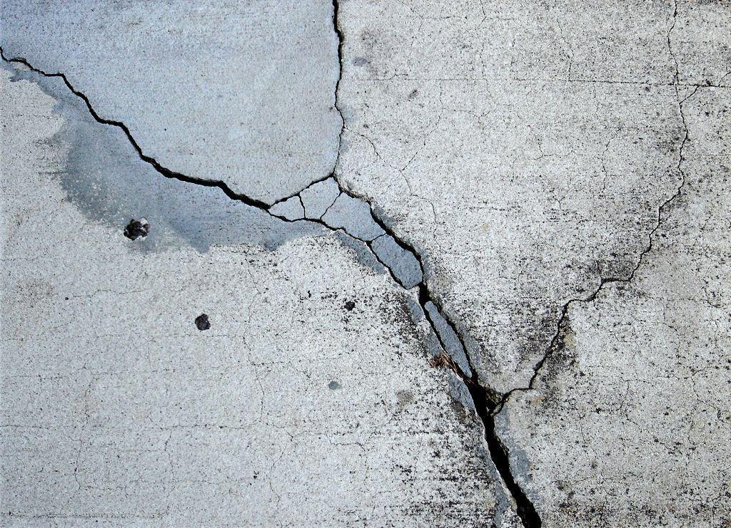 Виды трещин в бетоне