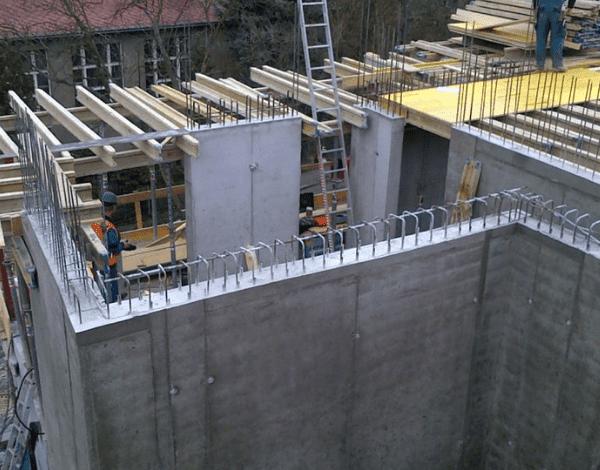 Строительство монолитных несущих стен