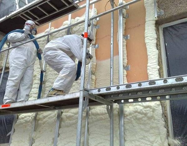 Особенности утепления бетонных конструкций